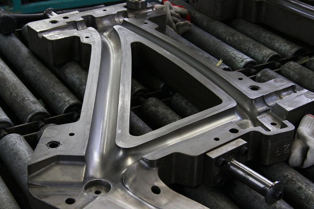 Carbon fibre frame mould