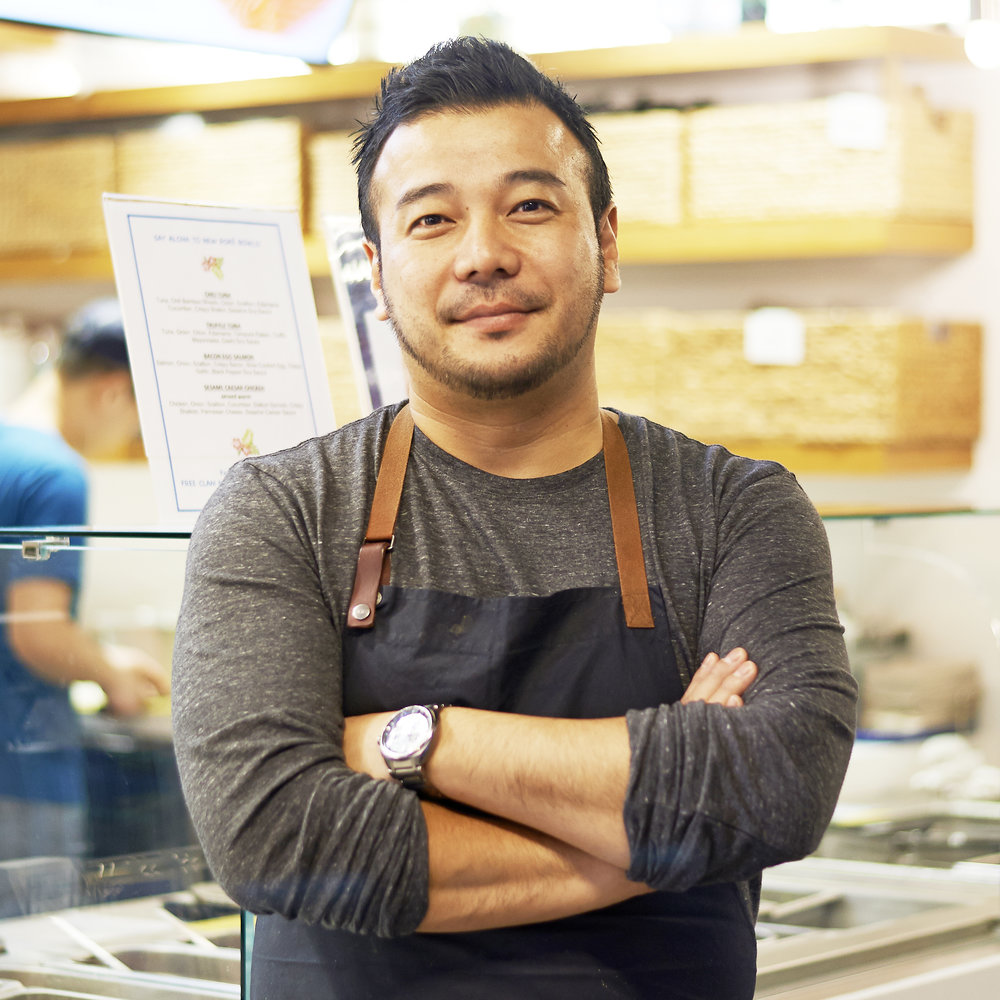 TAKANORI AKIYAMA  Executive Chef