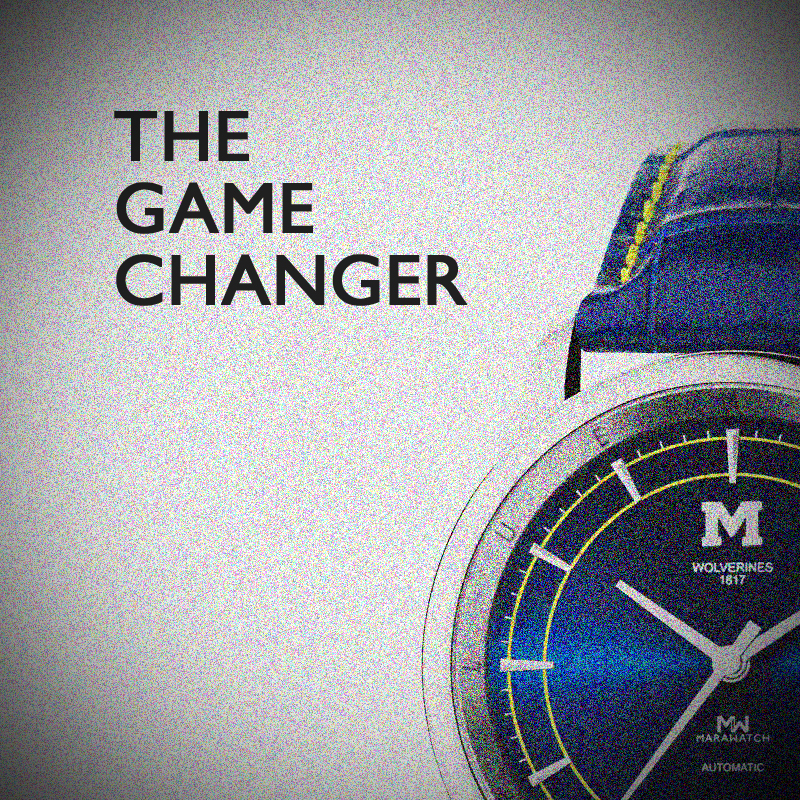 "A journey of, ""Maize and Blue"", true to Michigan. Sporty, formal, subtle, and captivating."