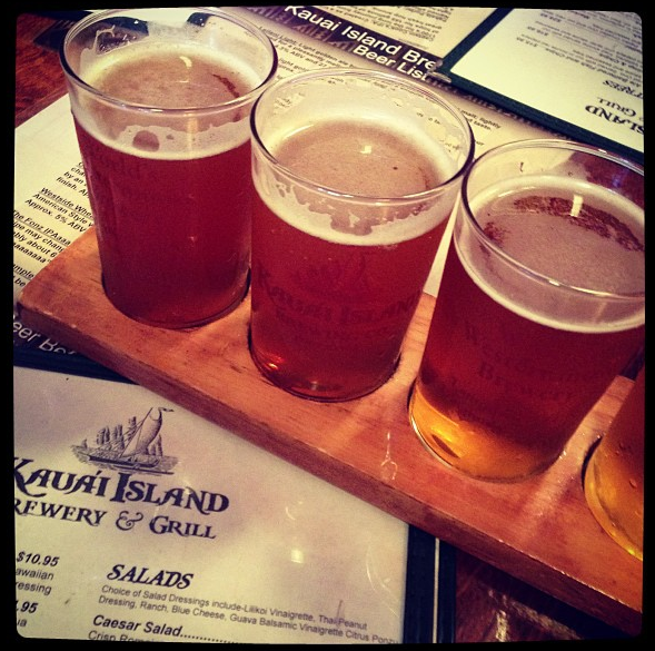 Kauai Island Brewing Sampler