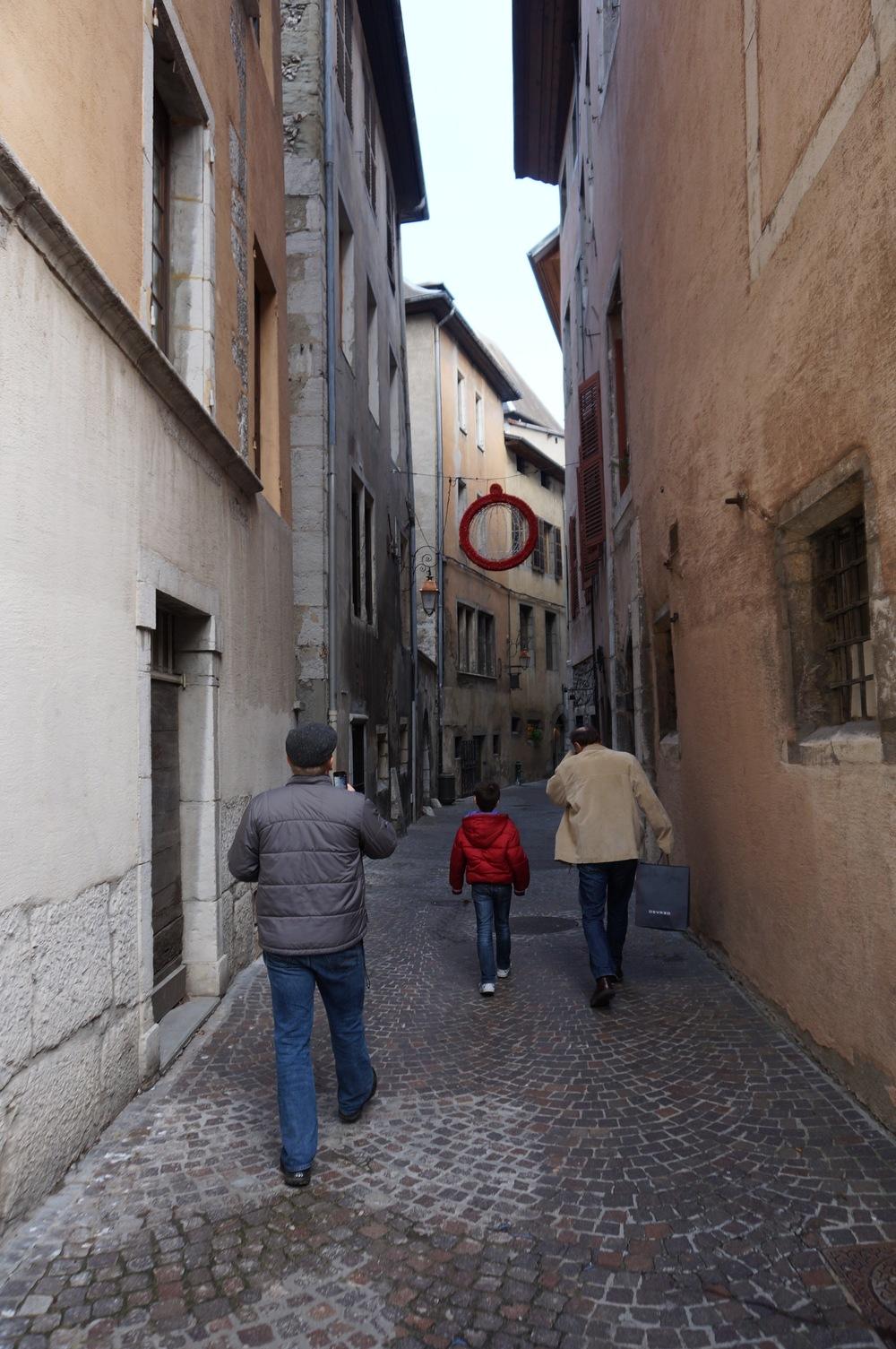 Rue Basse du Chateau, Chambery