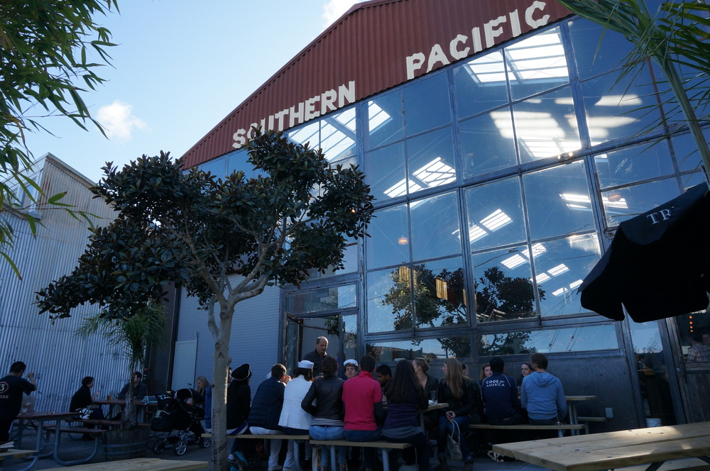 Southern Pacific Patio. Photo: Amy Bentley-Smith
