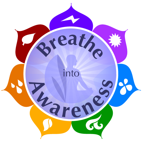 Yoga from the Heart Breathe Into Awareness logo