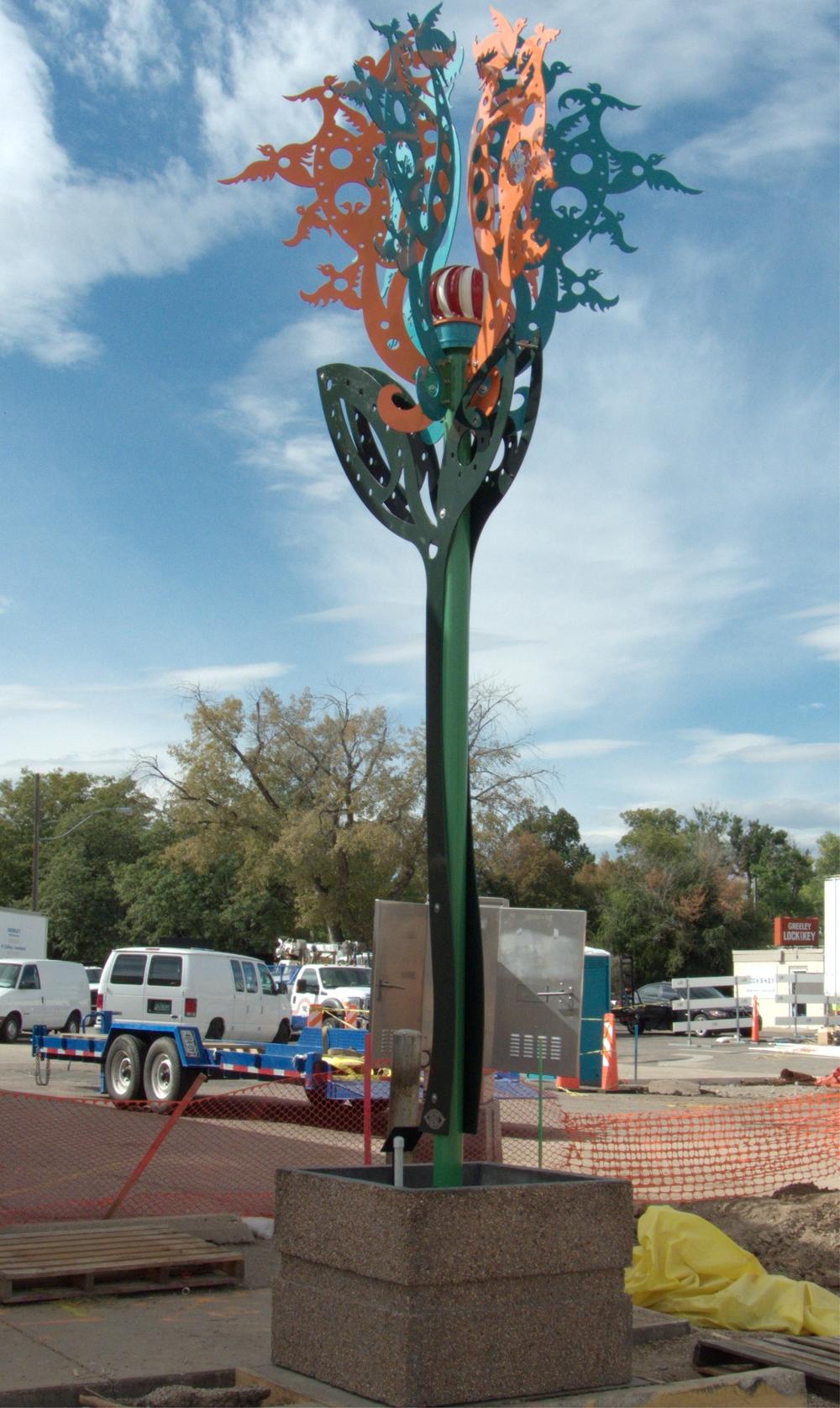 """Bird Tree"", finished piece"