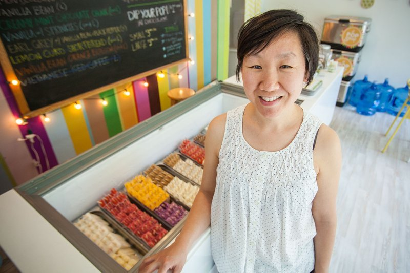 Lil' Pop Shop - 229 S. 20th St. & 265 S. 44th St., PhiladelphiaJeanne Chang opened Lil' Pop Shop in 2012 in West Philly. Her pops are made with high quality local ingredients; our favorite flavors include green tea mochi, goat cheese with port-soaked figs, and raspberry lime. In 2016 she opened a location in Rittenhouse and started serving pies like rosewater cherry and peanut butter chocolate caramel pretzel.lilpopshop.com