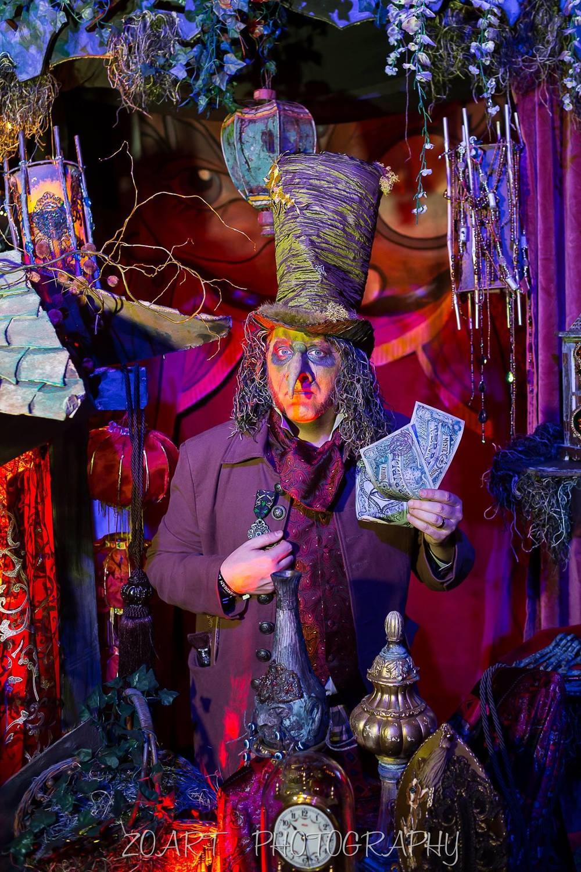 The author as a Goblin Merchant - Zoart Photograpy