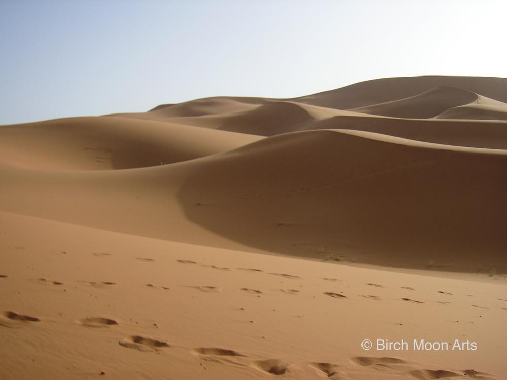 Sand Dunes, Sahara Desert  Available for purchase on  Etsy .