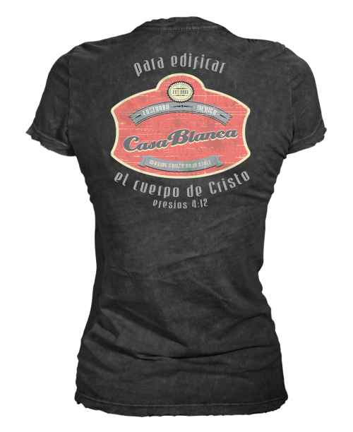 Casa Blanca Fitted Women's Tee
