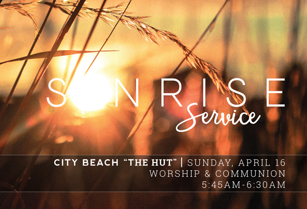 Easter Flier - Sunrise Service
