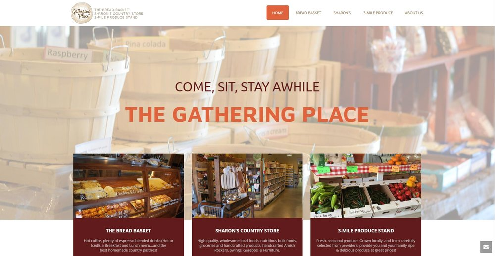 The Gathering Place - Website