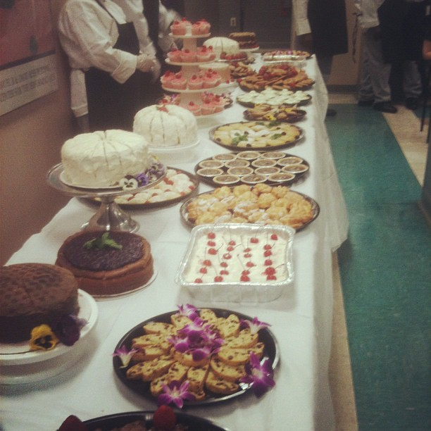 Couldn't resist—more desserts from our culinary arts grads! (Taken with  Instagram  at Kenton Hall)