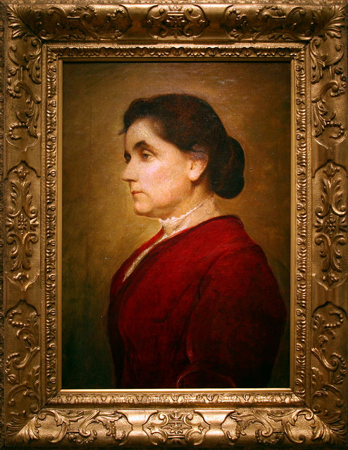 Jane Addams, 1906 by George de Forest Brush,  by  cliff1066™  on Flickr.  The good we secure for ourselves is precarious and uncertain until it is secured for all of us and incorporated into our common life.   -Jane Addams