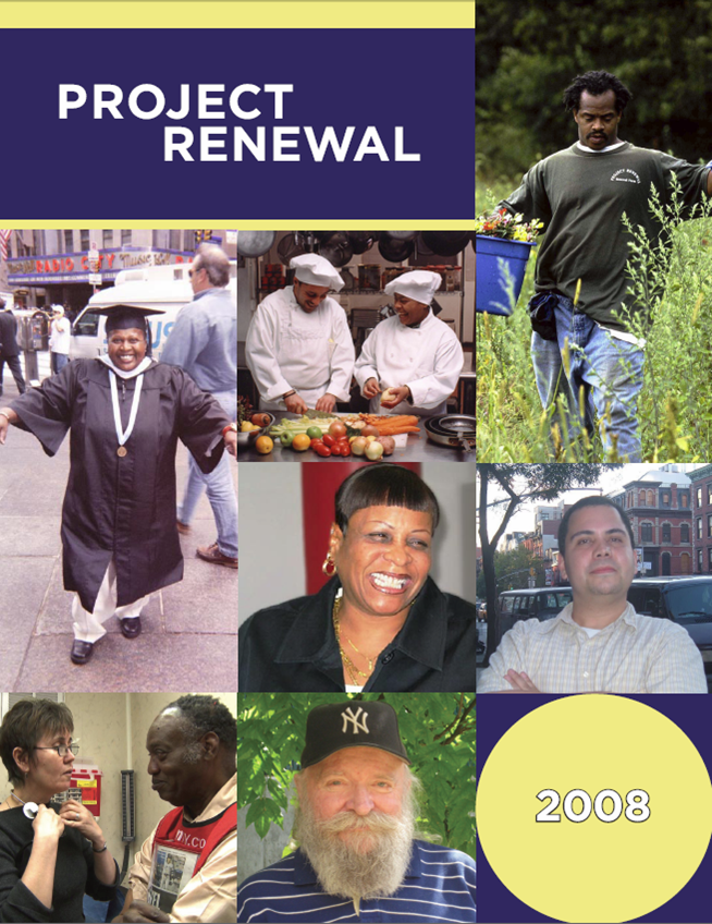Project Renewal 2008 Annual Report