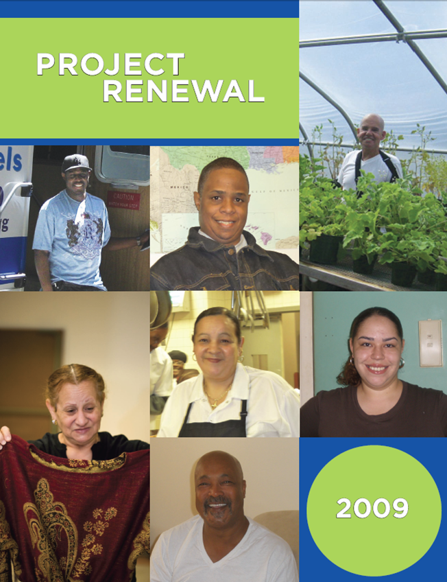Project Renewal 2009 Annual Report