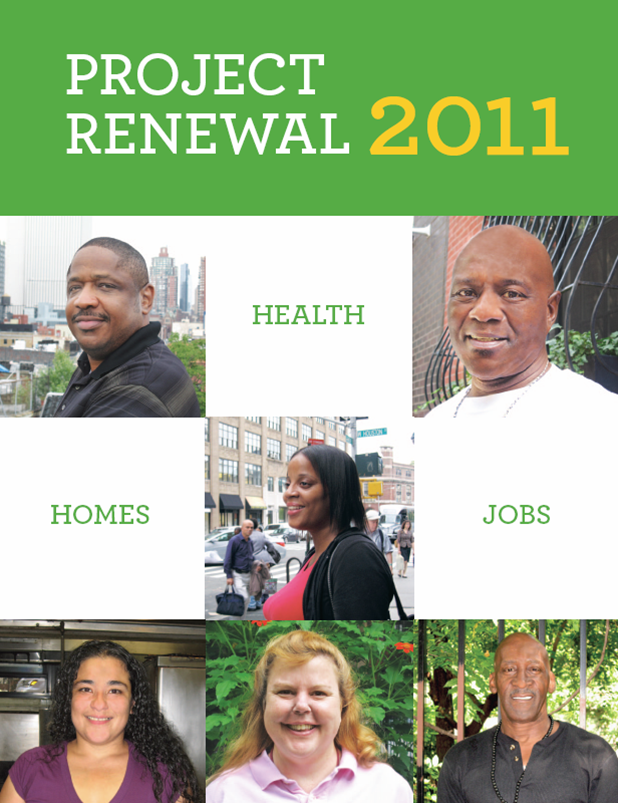 Project Renewal 2011 Annual Report