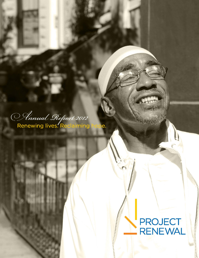 Project Renewal 2012 Annual Report