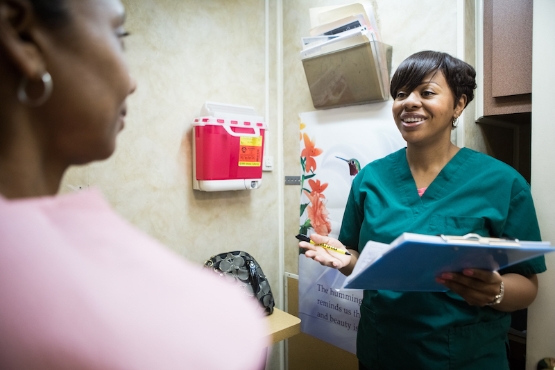 The ScanVan nurses and staff provide knowledgeable and compassionate care