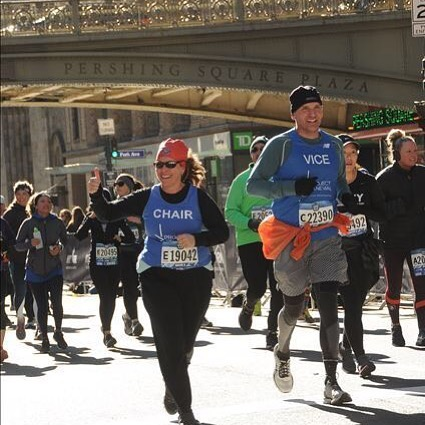 Congratulations to our amazing Board Chair, Claudia Rosen, and Vice Chair, Geoff Proulx, on completing the #nychalfmarathon on Sunday! They are the first Board leadership team to run the Half to raise funds and awareness for Project Renewal. Thank you for your dedication!
