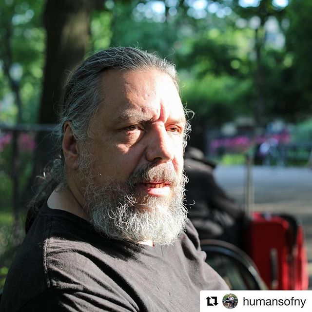 "#Repost @humansofny ・・・ ""Obama had been president for six days.  The old timers in the twelve-step program tell you to associate the memory with something—so that's how I remember it.  The weather was just like this, even though it was November.  It was sixtyish degrees.  I was sitting on a stoop, having my morning beer and cigarette, and feeling disgusted with myself.  I was wheezing so bad that it felt like I'd swallowed a whistle.  And I had this moment of clarity.  I knew I was done.  So I took a couple more swigs, threw the pack of Newports into traffic, and walked over to Project Renewal on 3rd Street.  I'll be ten years sober if I can make it until November 10th.  That was my day.  And it still is my day.  Even if I fail, I'll remember that on that day I succeeded.  And if I did it then, I can do it again."""