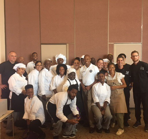 On Friday, our @citybeetkitchens team and Culinary Arts Training Program students catered @bpericadams' annual Seniors by the Sea community event. Thank you for having us!