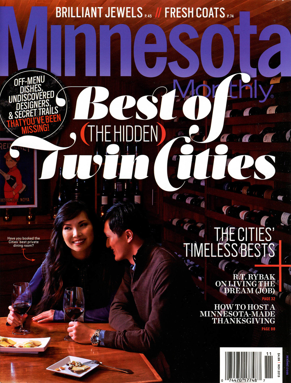Minnesota Monthly, November 2013