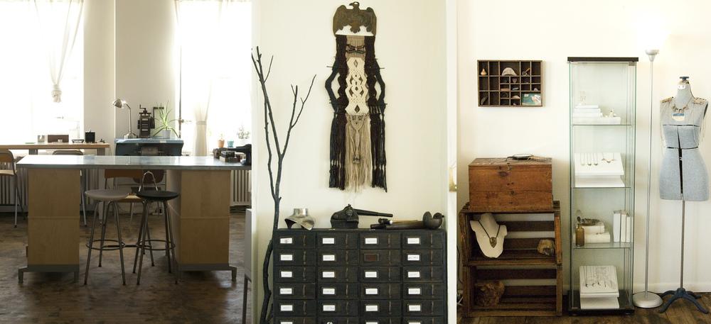 a little peek into our studio.