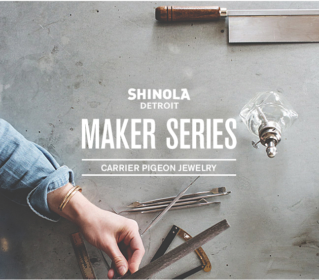 Shinola Makers Series, August 2014