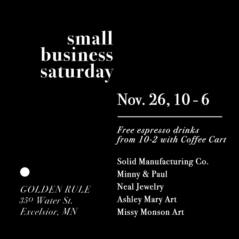 Small Business Saturday NEAL