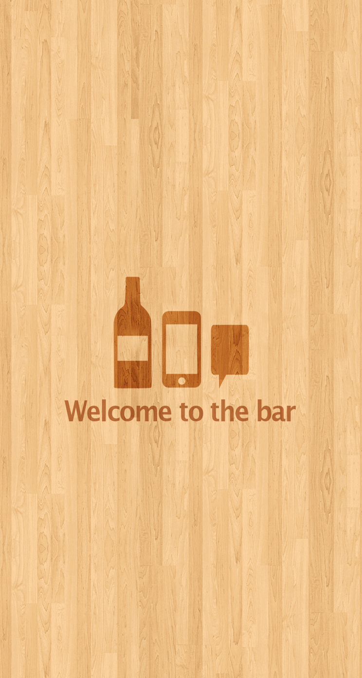 "iPhone Wallpaper 04 ""Welcome To The Bar"""
