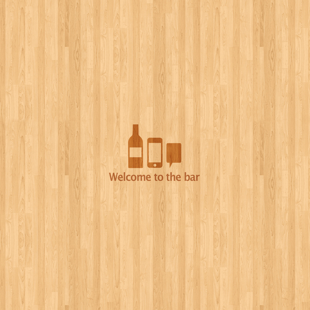 "iPad Wallpaper 04 ""Welcome To The Bar"""