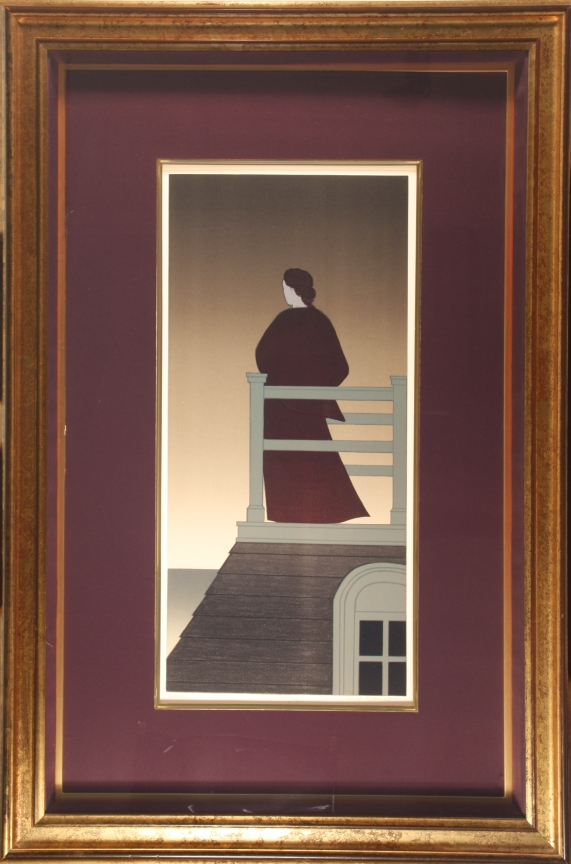 Will Barnet - Hand-Signed Silkscreen/Seriagraph 134/175 - 24x11 - Original Justification & Appraisal