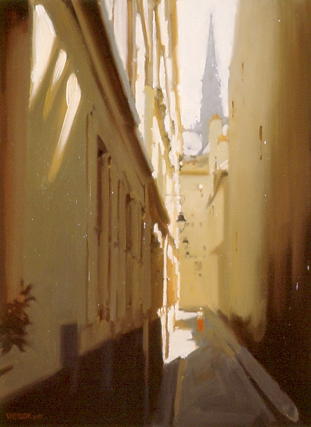 An Alley on the Right Bank, Paris