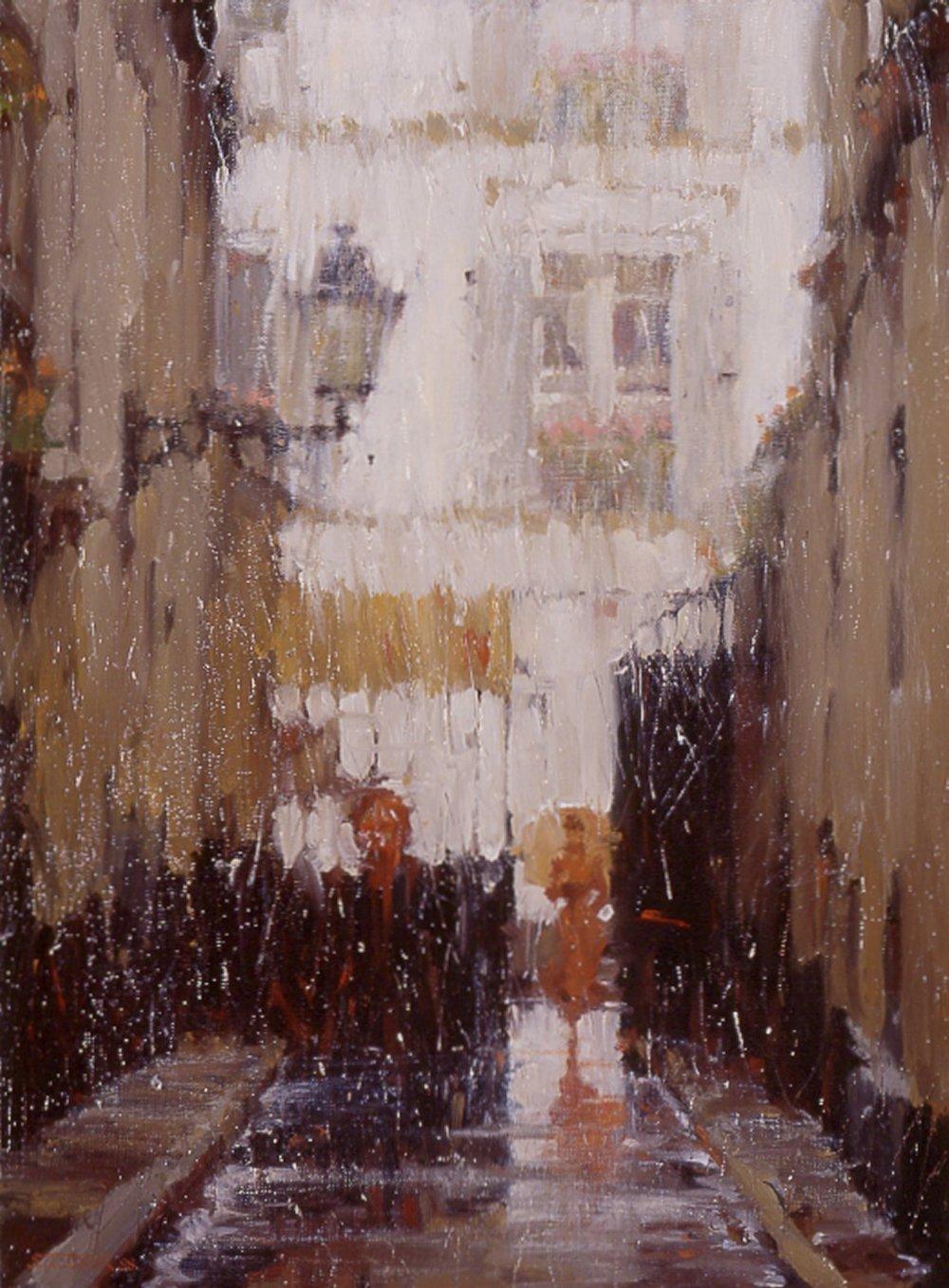 Montmartre Alley
