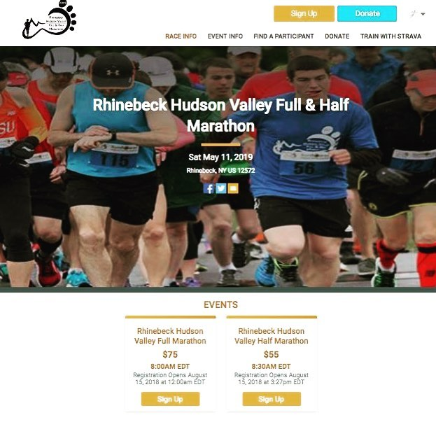 We are live on our new registration platform @runsignup #training !! Reg will open on August 15th for the 5th Annual Rhinebeck Full & Half Marathon on May 11th, 2019. Looking forward to our biggest and best year yet! Signup link in bio. #rhinebeckmarathon #rhinebeck #dutchesscounty . . . #marathontraining #marathon #halfmarathontraining #halfmarathon #bostonqualifier #hudsonvalley  #run #newyork #running #fitfeetadventures #runsignup