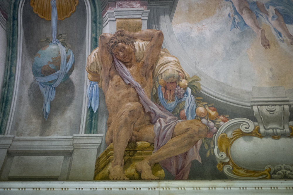 Mural Detail, Clark Library
