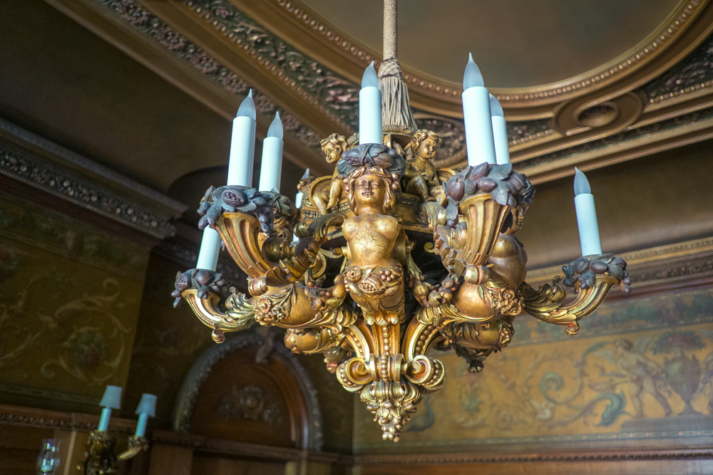 Guasti Mansion Chandelier