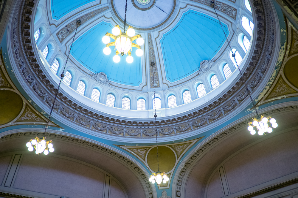 Second Church of Christ Dome Interior