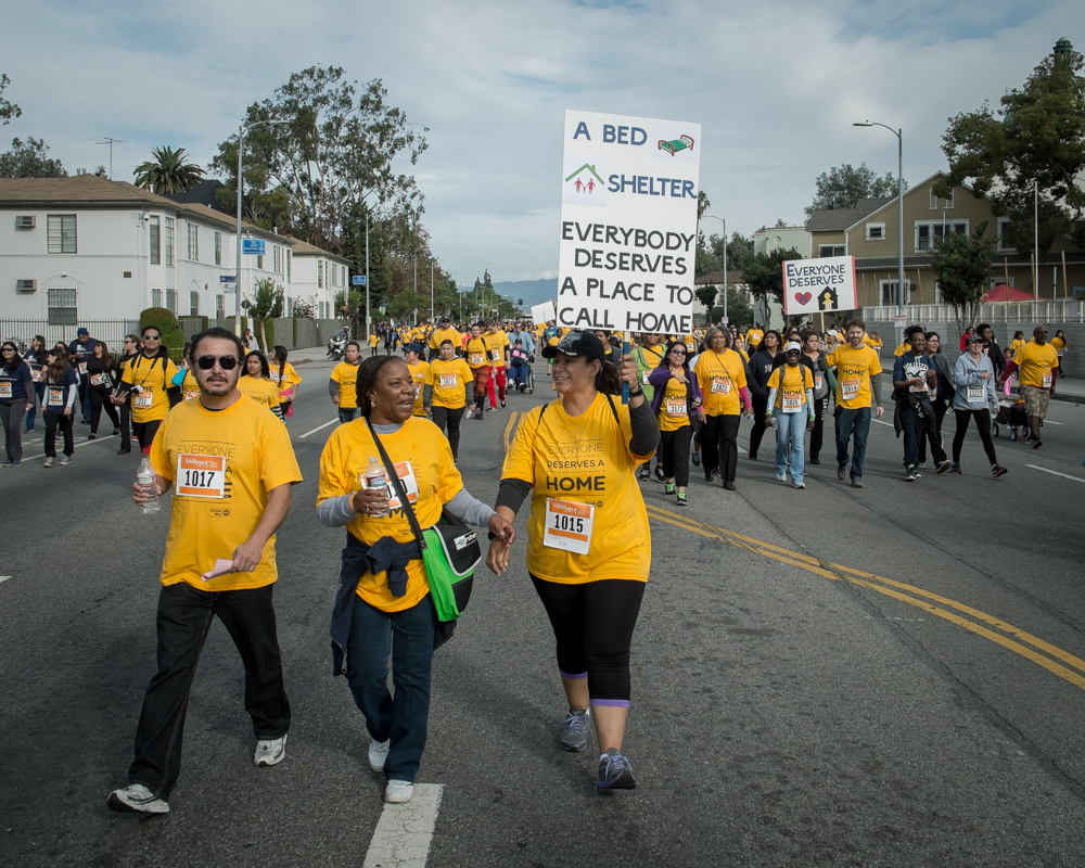 Walk and Run in West Adams for the Homeless