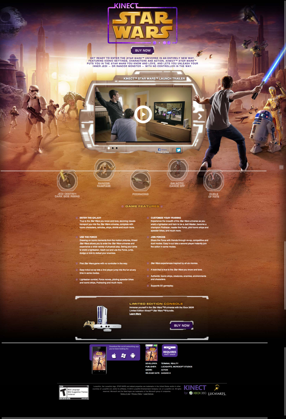 LucasArts.com   Kinect Star Wars 1.png