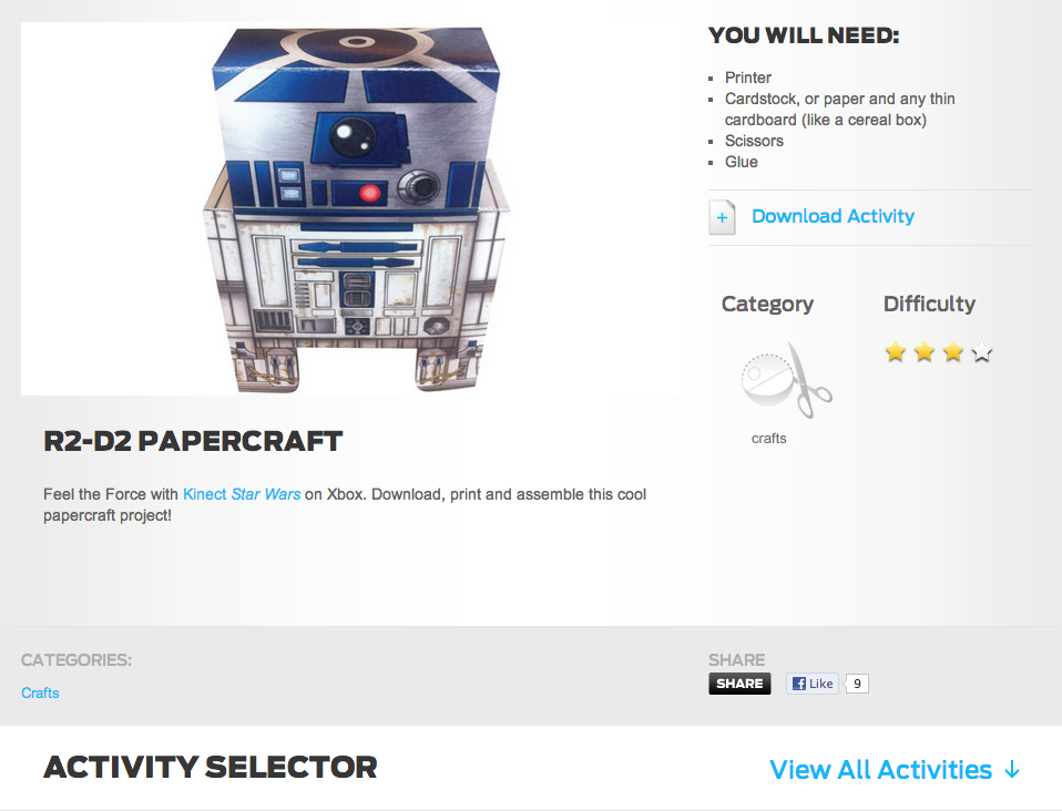 R2 D2 Papercraft   StarWars.png
