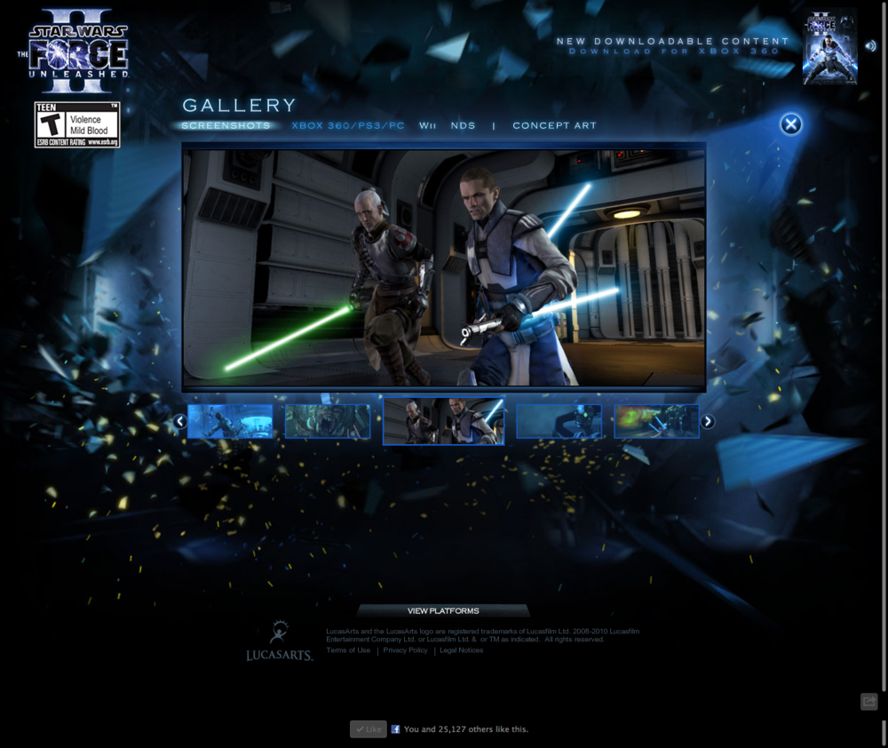 LucasArts.com   Star Wars  The Force Unleashed 2b.png