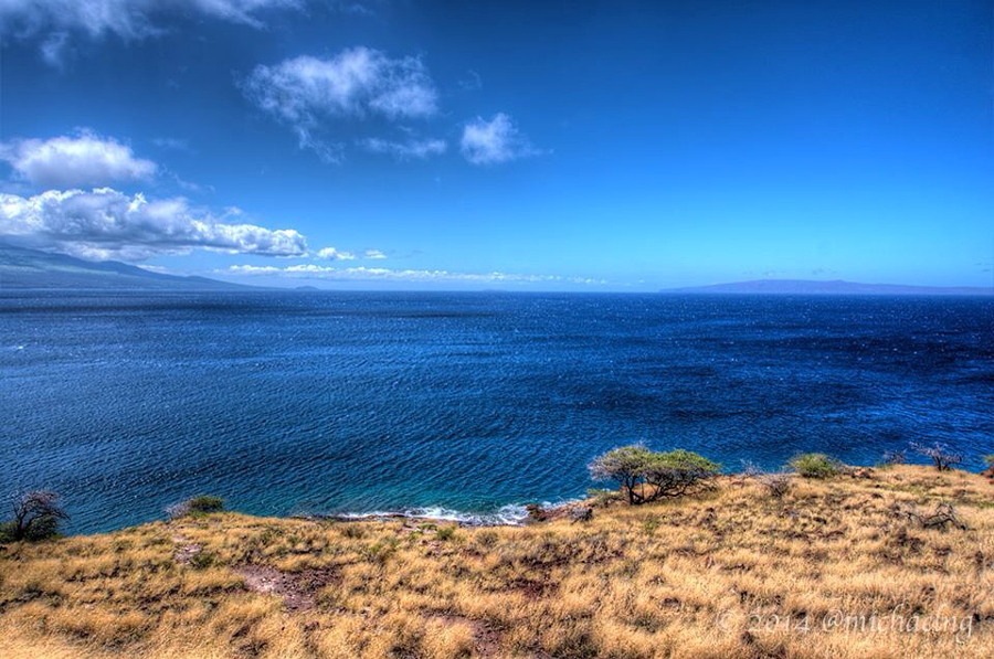 Papawai Point over looking Maalaea Bay.