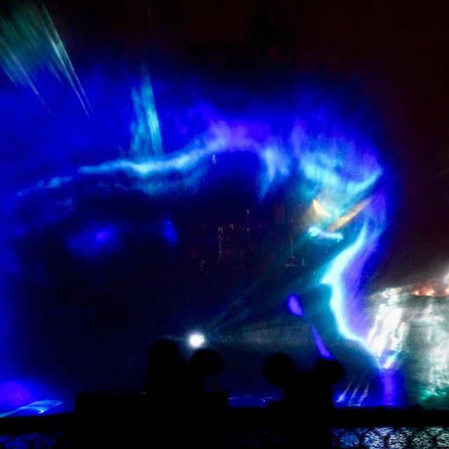 More Fantasmic projection art #chernabog #fantasmic #disney #disneyland #disneygram #disneyside #disneyphotography #disneyphoto