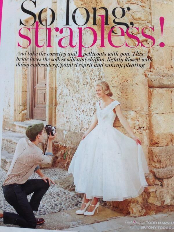 Photo supplied by Harriet Wilde  http:/  /www.bridesmagazine.co.uk