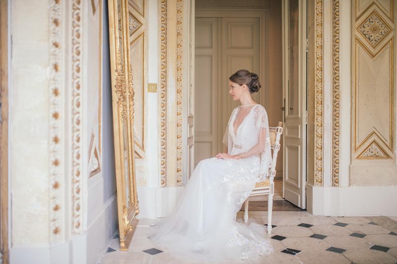 Wedding at Chateau la Durantie in France. Photos by www.nicholaspurcellstudio.com
