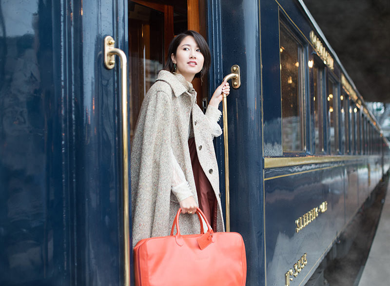 Luxury elopement on the Orient Express in Paris, France