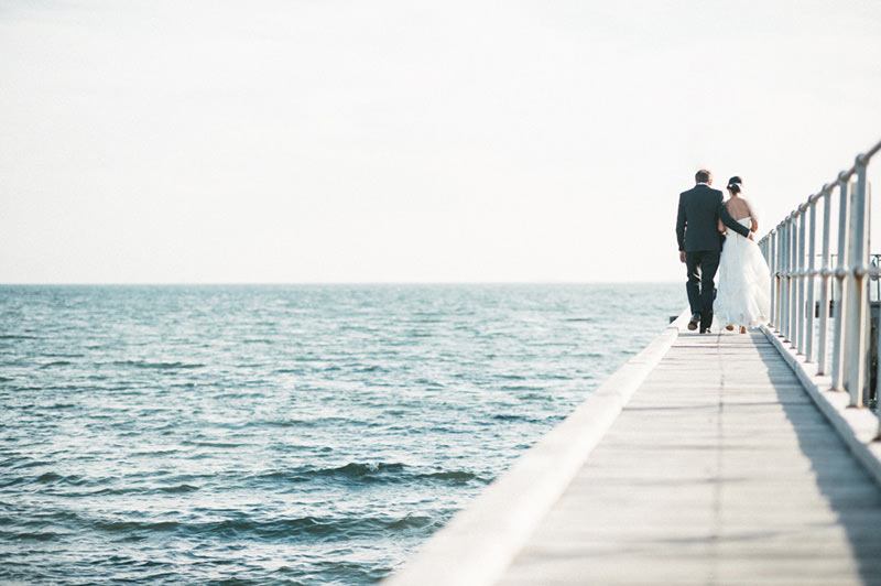 Beach wedding in Melbourne, Australia