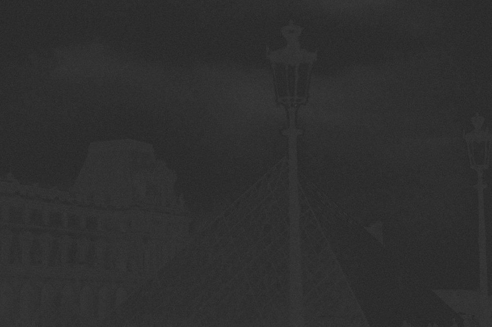 Black Paris - A black gown wedding editorial
