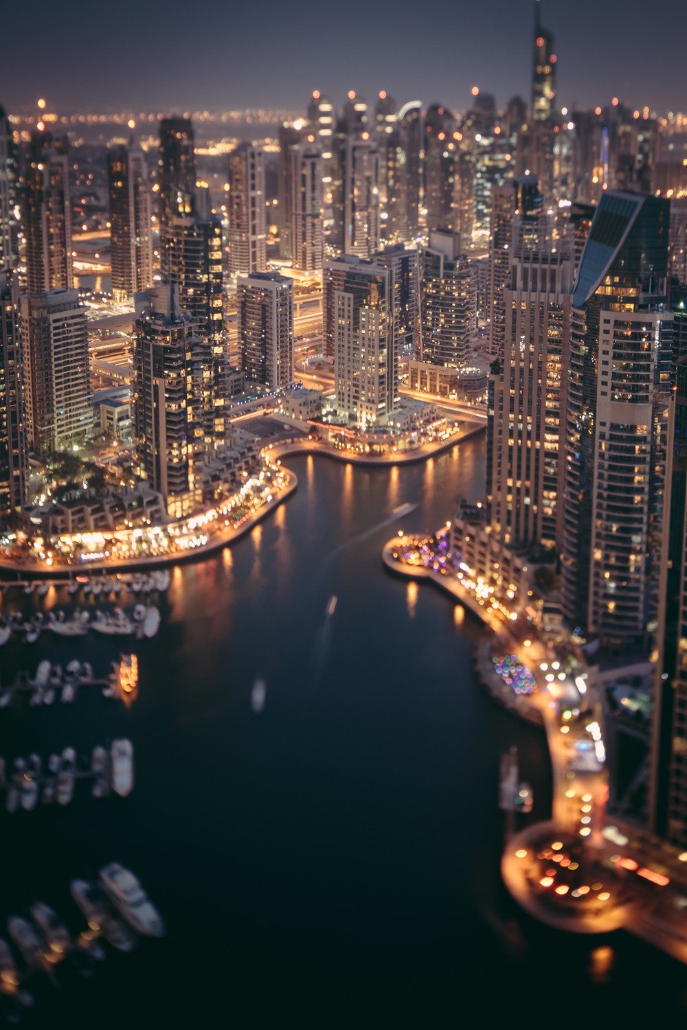 The Dubai Marina (17mm TS-E)