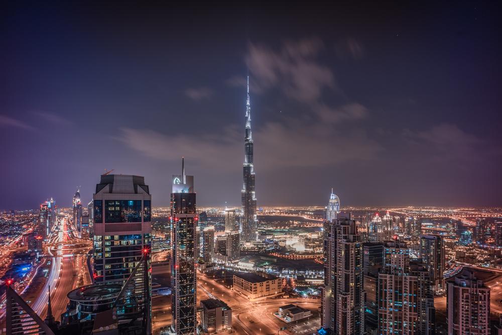 Dubai's iconic Burj Khalifa